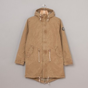 Oi Polloi x Norse Projects Oddbergur Parka (Hickory Brown)