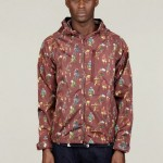 MEN&#039;S TAFFETA SOLDIER PRINT WINDBREAKER
